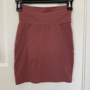 Pink/Mauve Pencil Skirt